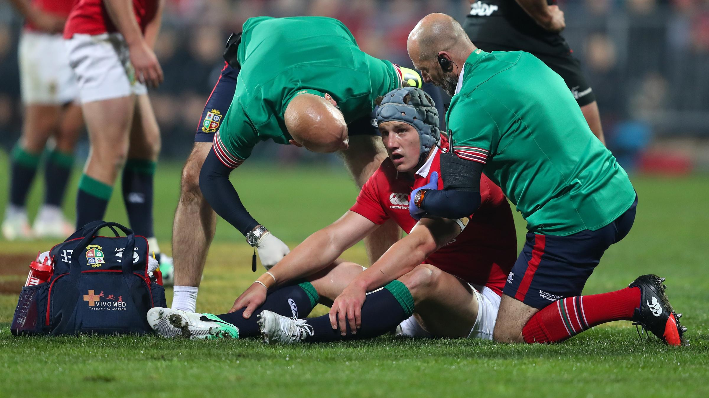 Highlanders 23 - 22 British & Irish Lions: Story of the match