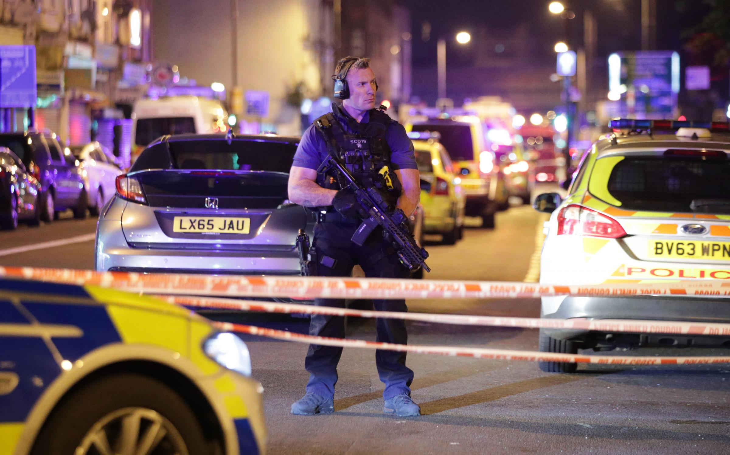 Many Casualties After Van Attack Outside Mosque in London