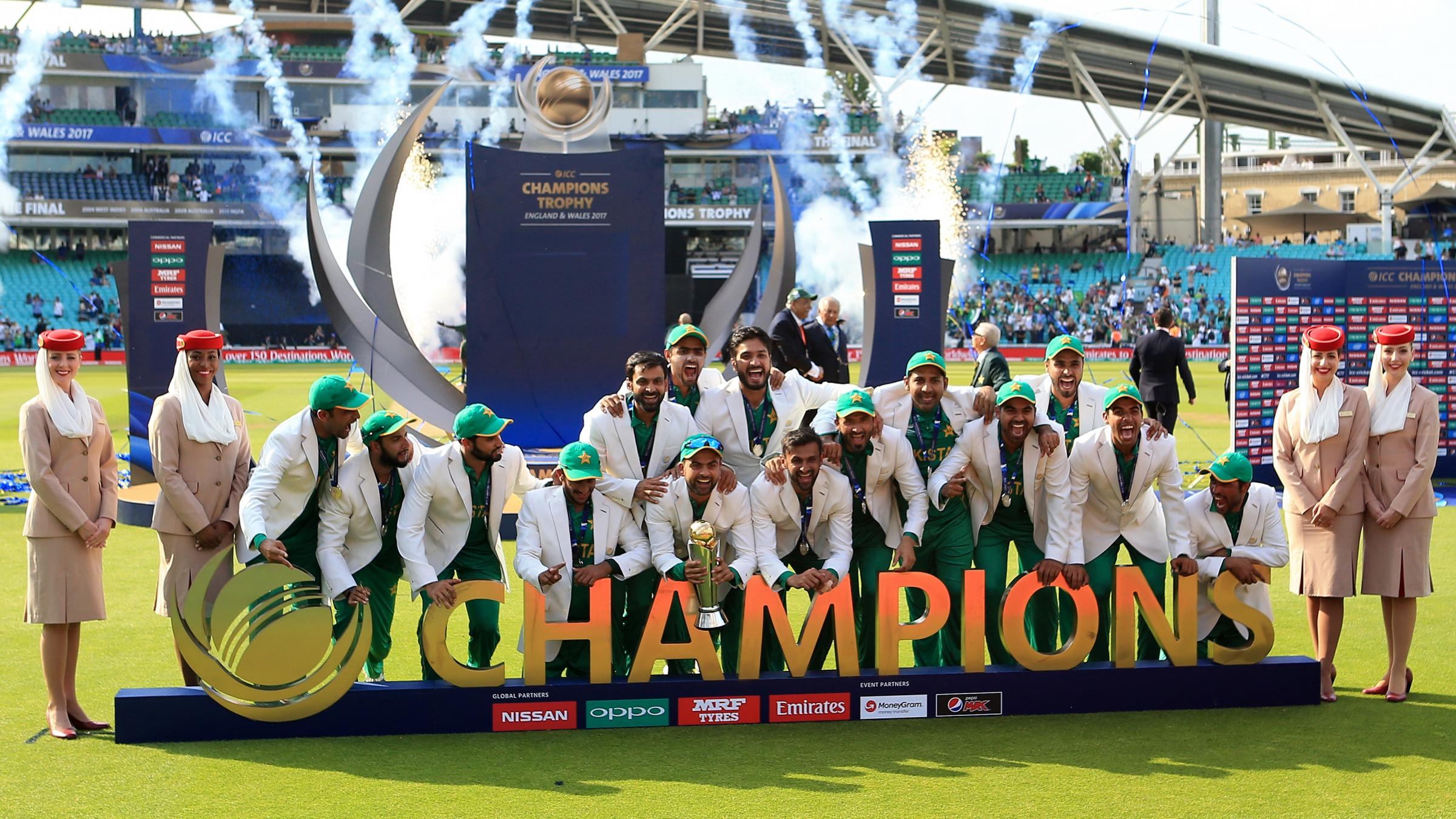 Pakistanis Rejoice After Team Hammers India in Champions Trophy